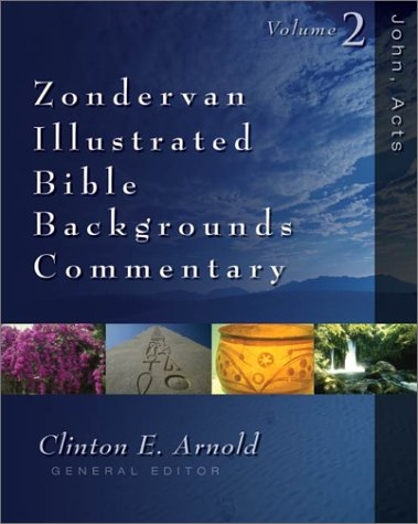 Zondervan Illustrated Bible Backgrounds Commentary   2002 edition cover
