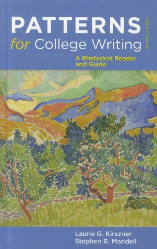 Patterns for College Writing A Rhetorical Reader and Guide 12th edition cover