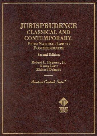 Jurisprudence  2nd 2002 (Revised) 9780314252074 Front Cover