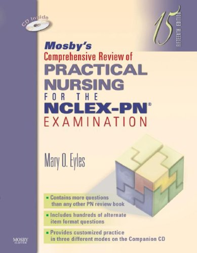 Mosby's Comprehensive Review of Practical Nursing for the NCLEX-PN Examination  15th 2007 (Revised) edition cover