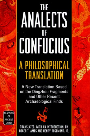 Analects of Confucius A Philosophical Translation  1999 edition cover