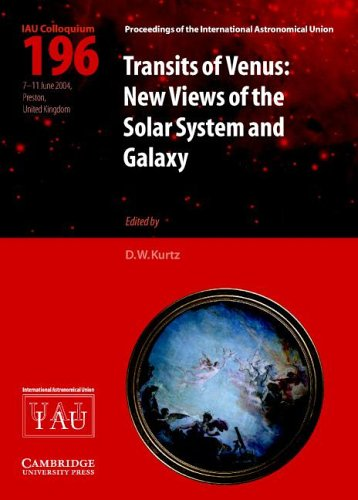 Transits of Venus New Views of the Solar System and Galaxy  2005 9780521849074 Front Cover