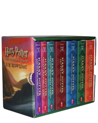 Harry Potter Paperback Boxset #1-7   2009 9780545162074 Front Cover