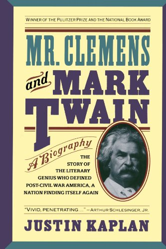 Mr. Clemens and Mark Twain A Biography  1991 edition cover