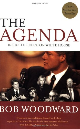 Agenda Inside the Clinton White House  2005 9780743274074 Front Cover