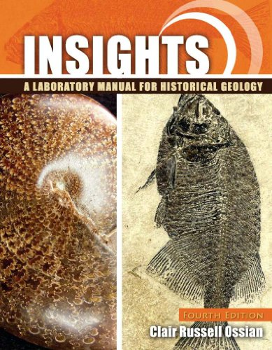 Insights A Laboratory Manual for Historical Geology 4th (Revised) edition cover