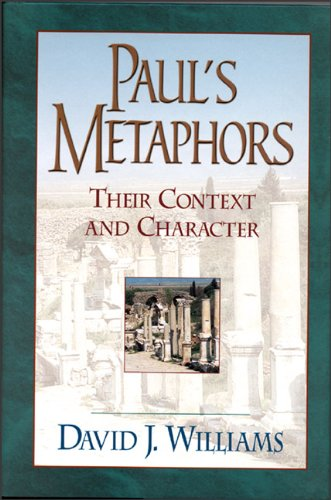Paul's Metaphors Their Context and Character N/A edition cover