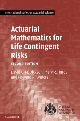 Actuarial Mathematics for Life Contingent Risks  2nd 2013 (Revised) 9781107044074 Front Cover