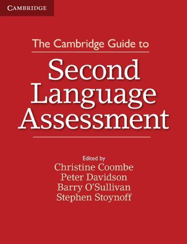 Cambridge Guide to Second Language Assessment   2012 9781107677074 Front Cover