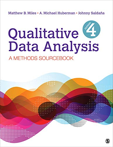 Qualitative Data Analysis A Methods Sourcebook 4th 2020 9781506353074 Front Cover
