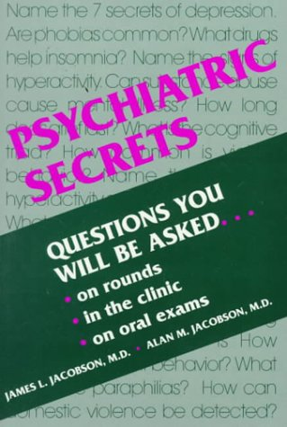 Psychiatric Secrets 1st 1996 edition cover