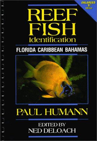Reef Fish Identification Florida Caribbean Bahamas 2nd 1994 edition cover