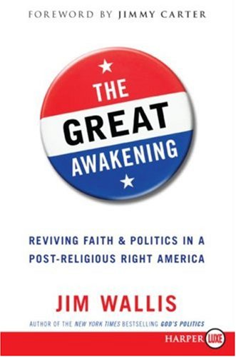 Great Awakening Seven Commitments to Revive America Large Type 9780061364075 Front Cover