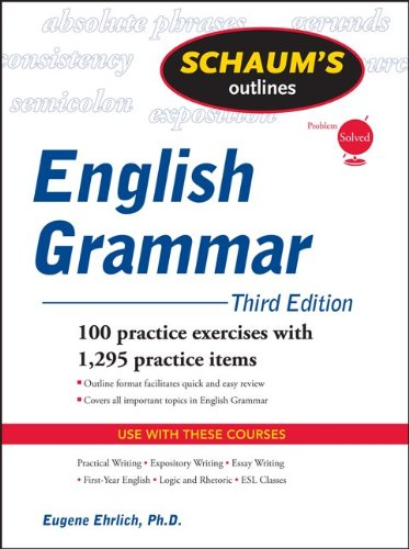 English Grammar 100 Practice Exercises with 1295 Practice Items 3rd 2011 edition cover