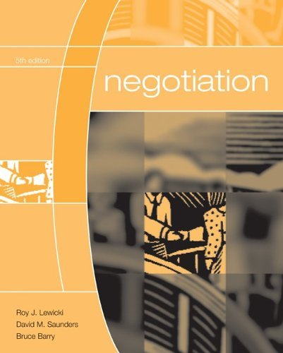 negotiation by lewicki
