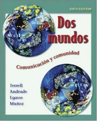 Dos Mundos Online Learning Center Bind-in Passcode 6th 2006 edition cover