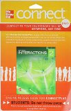 Interactions Level 2 Listening/Speaking Student Registration Code for Connect ESL (Stand Alone)  6th 2014 edition cover