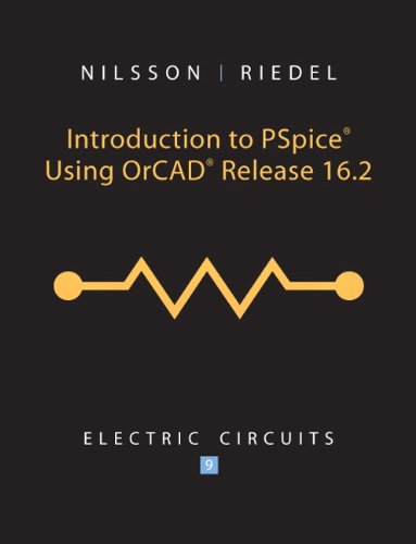 Introduction to PSpice for Electric Ciruits  9th 2011 edition cover