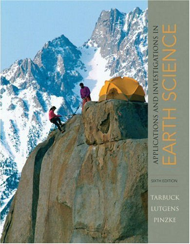 Applications and Investigations in Earth Science  6th 2009 edition cover