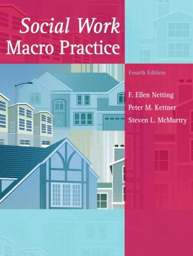 Social Work Macro Practice  4th 2008 edition cover