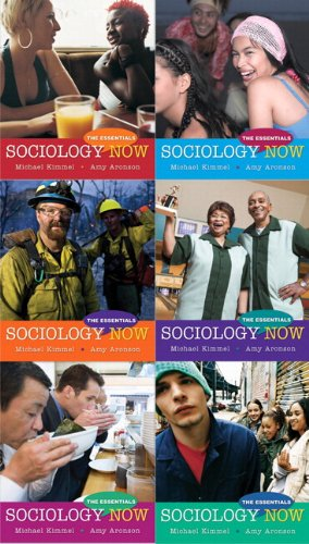 Sociology Now The Essentials (with MySocLab with E-Book Student Access Code Card)  2010 9780205777075 Front Cover