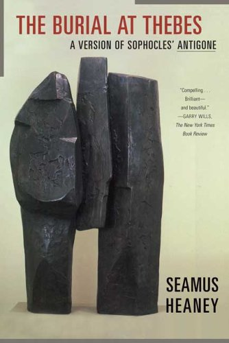 Burial at Thebes A Version of Sophocles' Antigone N/A edition cover