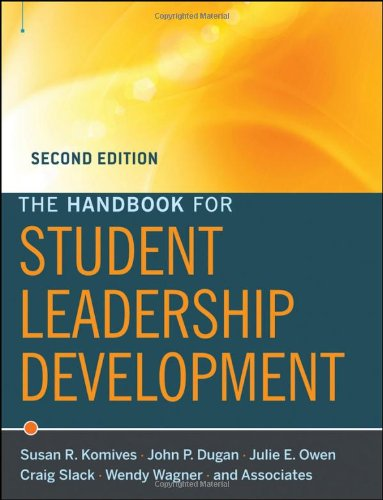 Handbook for Student Leadership Development  2nd 2011 edition cover