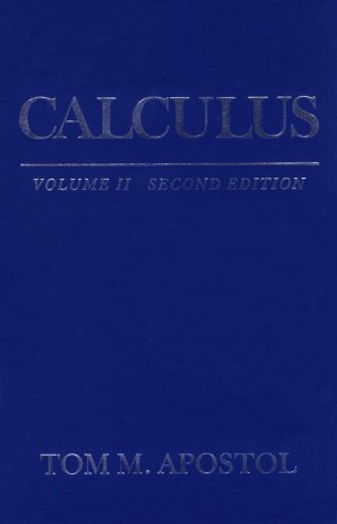 Calculus  2nd 1969 (Revised) edition cover