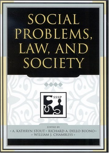 Social Problems, Law, and Society   2004 edition cover