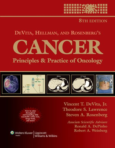 Cancer Principles and Practice of Oncology 8th 2008 (Revised) edition cover