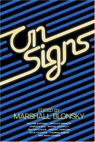 On Signs   1985 edition cover