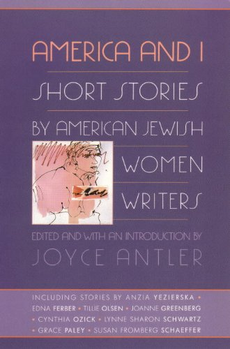 America and I Short Stories by American Jewish Women Writers  1991 edition cover