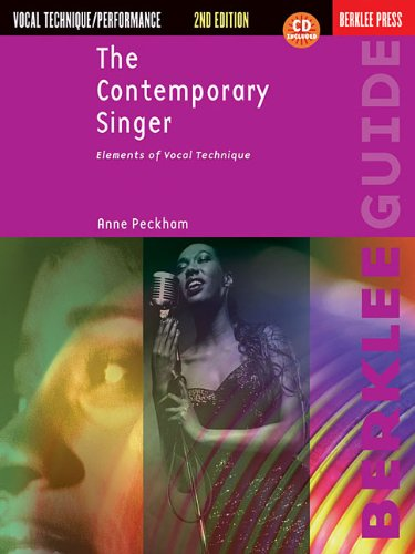 Contemporary Singer Elements of Vocal Technique 2nd 2010 (Revised) edition cover