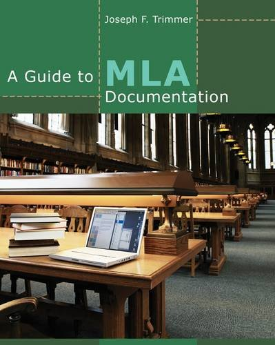 Guide to MLA Documentation  9th 2013 edition cover