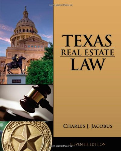 Texas Real Estate Law  11th 2012 9781133435075 Front Cover