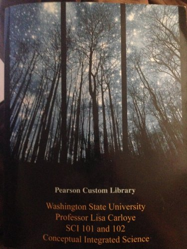 CONCEPTUAL INTEGRATED SCIENCE >CUSTOM<  N/A 9781269248075 Front Cover