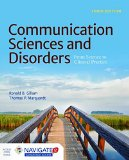 Communication Sciences and Disorders  3rd 2016 edition cover