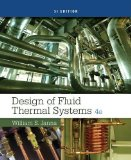 Design of Fluid Thermal Systems, SI Edition  4th 2015 edition cover
