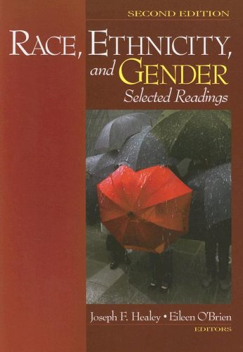 Race, Ethnicity, and Gender Selected Readings 2nd 2007 edition cover