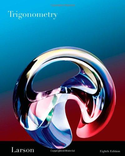 Trigonometry  8th 2011 edition cover