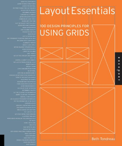 Layout Essentials 100 Design Principles for Using Grids  2011 edition cover