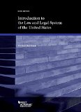 INTRO.TO LAW+LEGAL SYSTEM OF U.S.       N/A 9781634602075 Front Cover