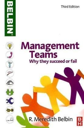 Management Teams Why They Succeed or Fail 3rd 2010 (Revised) edition cover