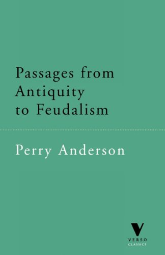 Passages from Antiquity to Feudalism   1996 edition cover