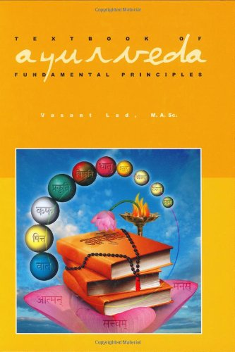 Textbook of Ayurveda Fundamental Principles, Volume One  2000 edition cover