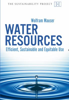 Water Resources Efficient, Sustainable and Equitable Use  2009 edition cover