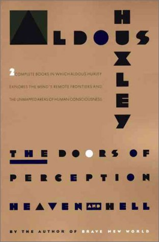Doors of Perception Reprint  edition cover