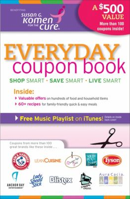 Everyday Coupon Book Exclusive Offers on Hundreds of Food and Household Items N/A 9780061789076 Front Cover