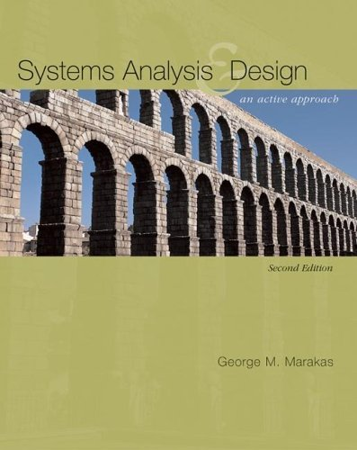 Systems Analysis and Design An Active Approach 2nd 2006 edition cover