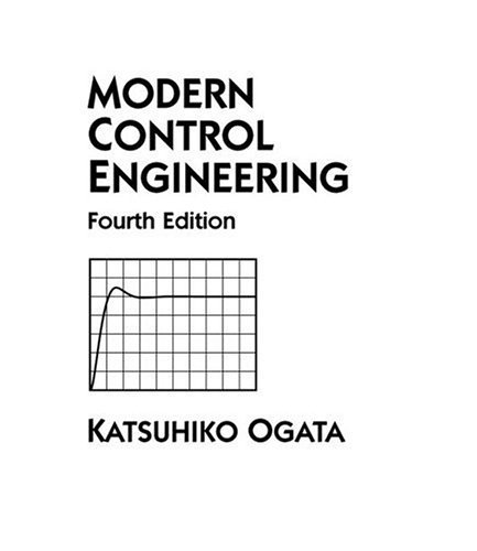 Modern Control Engineering  4th 2002 edition cover
